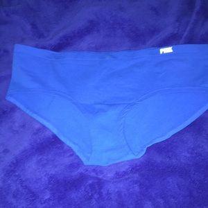 VS blue underwear